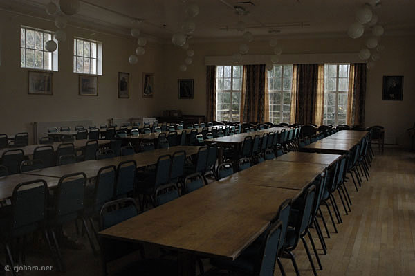 [St. Cuthbert's Society dining room, University of Durham]