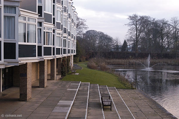 [One of the housing blocks, Van Mildert College, University of Durham]