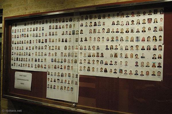 [Student directory, Van Mildert College, University of Durham]