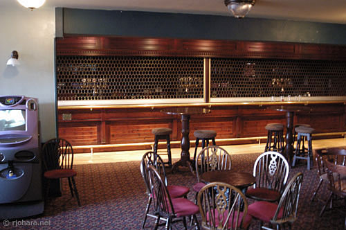 [College bar in Collingwood College at Durham University]