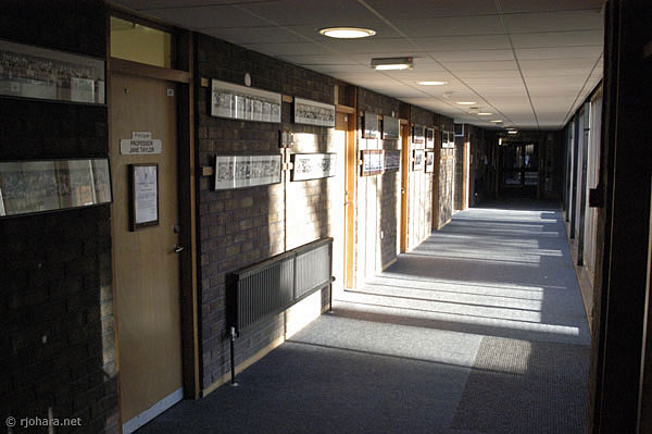 [Collingwood College offices at the University of Durham]