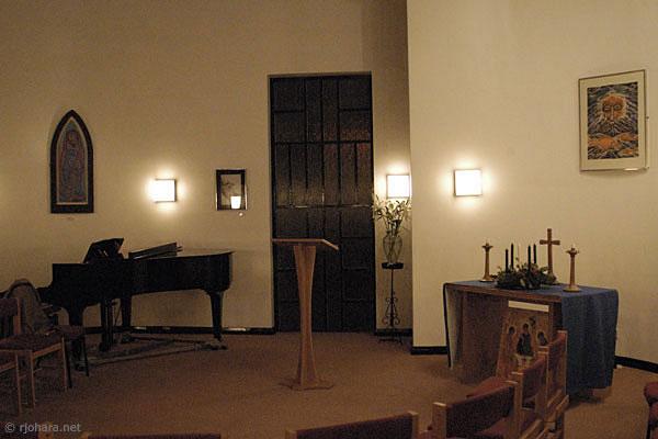 [Lattin Chapel, Grey College, Durham University]