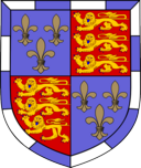 [Arms of St. John's College, Cambridge]