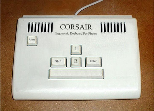 [The Pirate keyboard, arrr.]