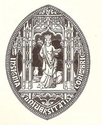 [Seal of the University of Coimbra]