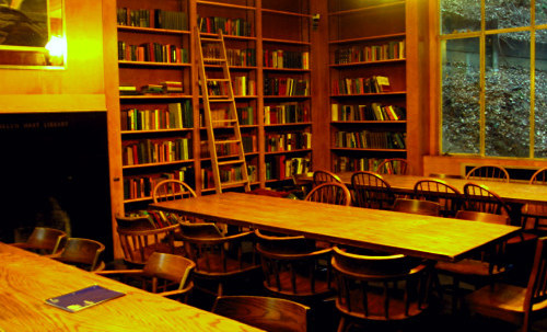 [Bowles Hall Library at the University of California at Berkeley]