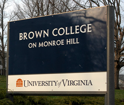 [Brown College at Monroe Hill, University of Virginia]