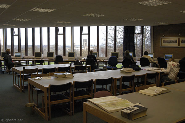 [Library of St. Aidan's College, University of Durham]