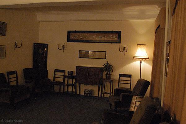 [Hatfield College Senior Common Room, Durham University]