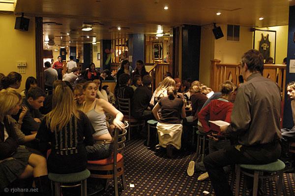 [Bar quiz night at Hatfield College]