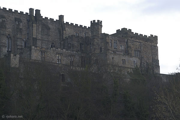 [Durham Castle, the home of University College, Durham, viewed from the west]