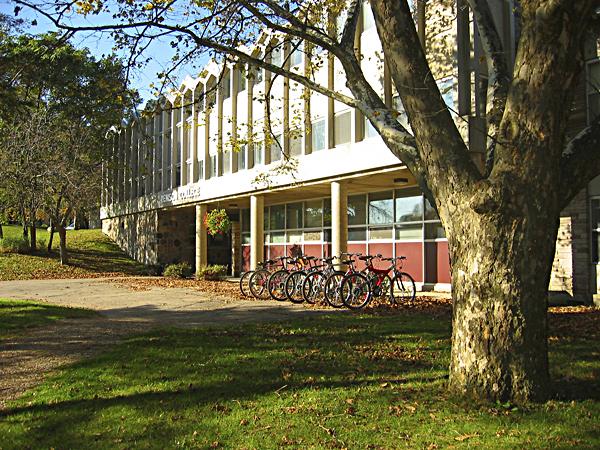 [Renison College entrance]