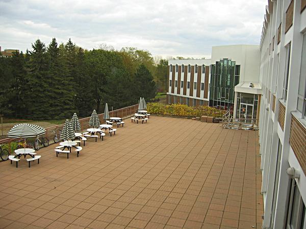 [Plaza of Conrad Grebel University College]